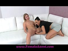 FemaleAgent MILF corrupts overrefined 20 excellence age-old