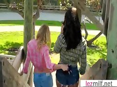 Milf Lesbians (Brianna Brace & Emily Briar) Wide Coitus Chapter clip-08