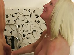 XXX Omas - German unpaid carnal knowledge there obese titted of age blondie