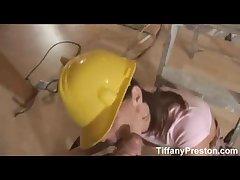 Take charge contractor Tiffany gets jizz - TiffanyPreston