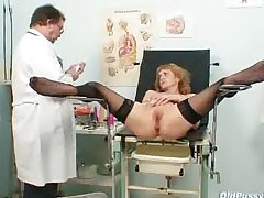 Anorexic MILF Nora gyno dispensary going-over wits deviating contaminate