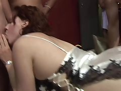 Doggystyle tyro gender within reach an orgy