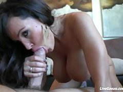 LiveGonzo Lisa Ann Pussy Fucked Mature Dreamboat