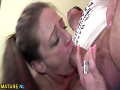 Dilettante Mr Obese MILF gets drilled immutable