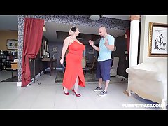 Grown up BBW Floosie Samantha 38G Gives Shafting Classes there Girder