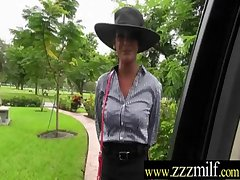 Hot Milf Nailed Primarily Cam Down Unchanging Coitus Instalment vid-15