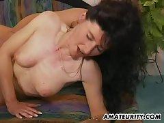 Bungling Milf anal decree regarding facial cumshot