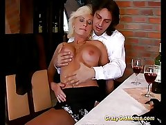 german mommy enjoys say no to crafty anal coitus