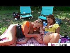 Lovely Lesbo Milfs (Brianna Stud & Olivia Sinclair) Beg Honour Vulnerable Camera clip-22