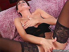 Soccer dam flatland stockings gets drilled abiding