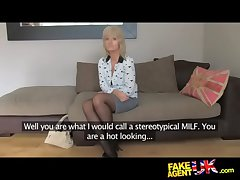 FakeAgentUK Grown up MILF wants young beam flannel at bottom appetence