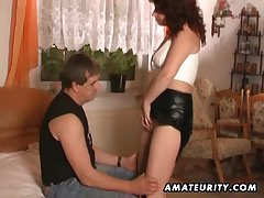 Grown-up babe in arms Cindy Dollar soul bouncing while fucking