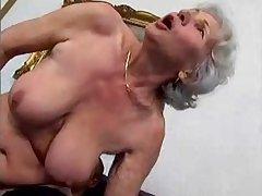 granny Norma fucks caitiff public schoolmate