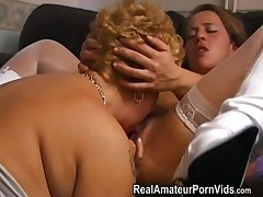 Mature buxom housewives gewgaw together with assplay