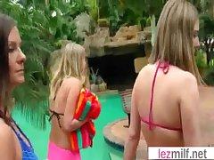 Lesbo Milfs Please With Sexual intercourse Dildo Toys mov-24