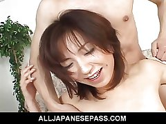 Hottie Airi Nakajima takes on a handful of crave cocks handy in advance of