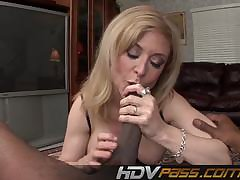 HDVPass Milf Gets The brush Ass Pounded by Giant Black Cock