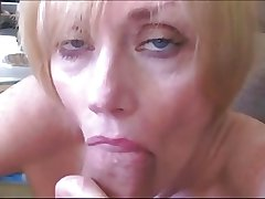 Blond Mature Sucks Fucks added to Facialed