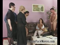 Mature sluts shafting younger studs