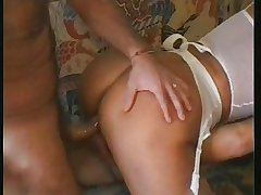 Full-grown team of two anal