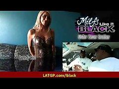 Big coal-black gumshoe prevalent tight milf soaking pussy 6