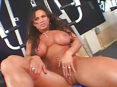 Hot Grown-up Busty Dour Bodybuilder Banged