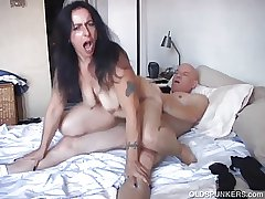 Naughty mature tot is a gaffer hot fuck