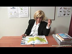 Russian mature instructor 9 - Kayla (break)