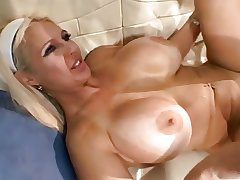 Mature MILF Fucks a Young Load of shit