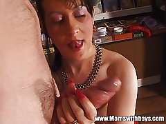 Mature Women Share Younger Stud Be required of Blowjob And Fisting Diversion