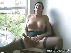 Glaring orgasm Extraordinary Granny Frederique