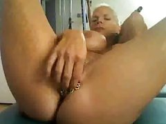 horny granny insusceptible to cam, give many rings insusceptible to will not hear of clit...