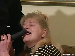 Busty Granny Gets Dicked Thither