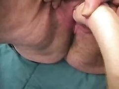 Fatt ugly old granny loves to masturbate !! Real clumsy