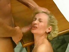 Italian Progenitrix and Grandmother Made-up Anal