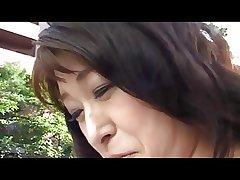 50yr grey Granny Akagi Oda Loves Bushwa (Uncensored)