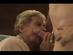 InterracialPlace.org - Granny cuckold wed watched by husband