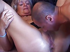 Granny Gets A Arse Pounding