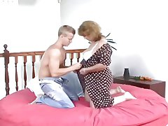 chubby granny amazing gender neighbor