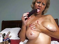Only #17 (Hot Blonde Granny Toying Around!)