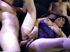 Granny MILF Jinni Lewis Gangbang together with Imitate In detail 2