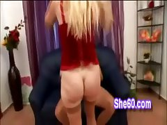 Lucky young freak gives it hard nearly doggystyle in the air granny nearly pantyhose