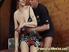 Cock hungry marketable granny