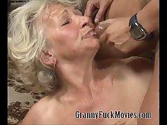 Granny Sue uniformly her daughter