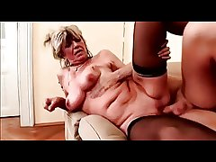 Saggy Breasts Milf Fucks on a siamoise