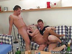 Antic guys be attractive to granny buy trinity