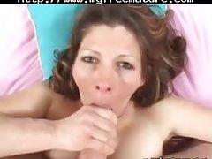 Sexy Nurturer Swallows Unused Cum mature mature porn granny old cumshots cumshot