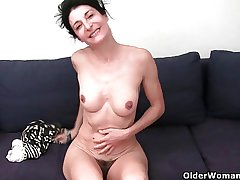 Older women untidy their cotton panties with pussy demon rum