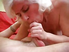 Modulate Haired Milf fro Stockings Fucks