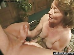 Granny fucked hard by old-ass sweetheart